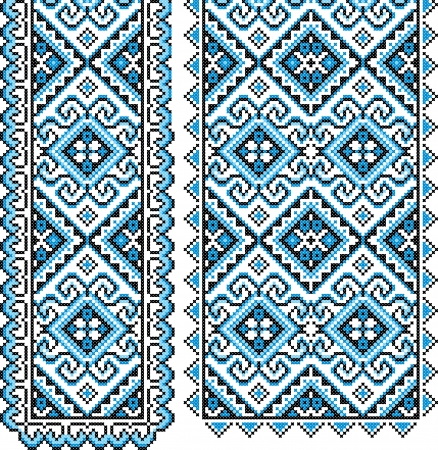 Ukrainian national ornament Vector illustration