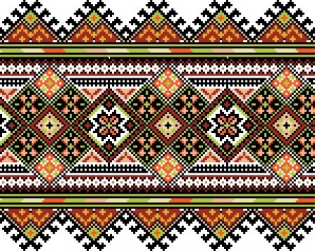wallpape: Ucrainian national ornament  Vector illustration  Illustration