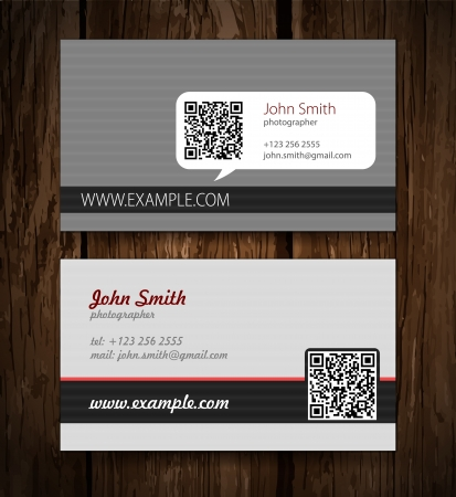office visit: abstract creative business cards  set template