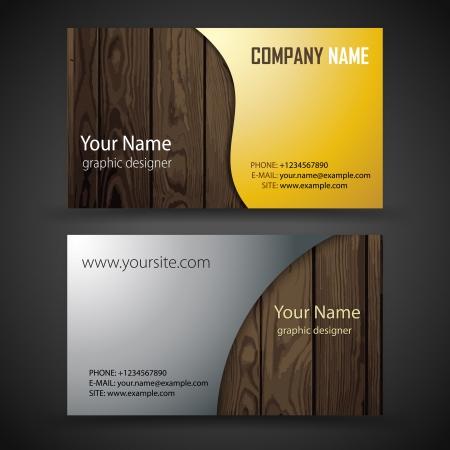 tarjeta amarilla: abstractos tarjetas de visita creativas conjunto de plantillas