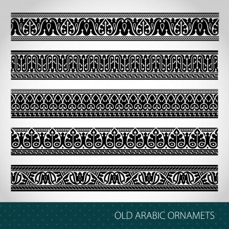 Seamless Islamic borders Stock Vector - 18818994
