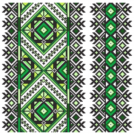 belorussian: Ukrainian national ornament. Vector illustration.