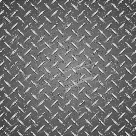 金属のテクスチャ カラーを黒し、銀。  イラスト・ベクター素材