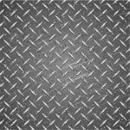 Metal texture silver and black color. Stock Vector - 21050300