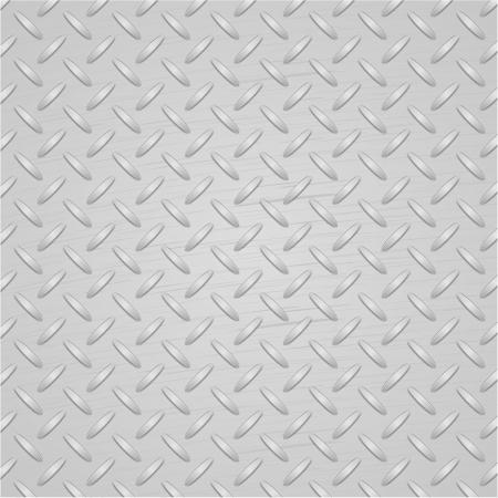 metal surface backdrop: Light metal texture background. Vector.