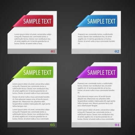 Vector set of design elements. Stock Vector - 21646235