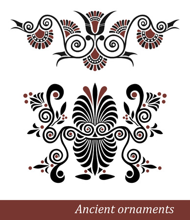 Old greek ornament  Vector illustration  Vector
