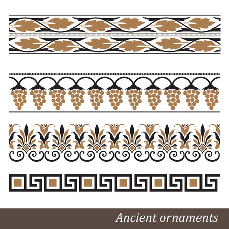 Old greek ornament  Vector illustration