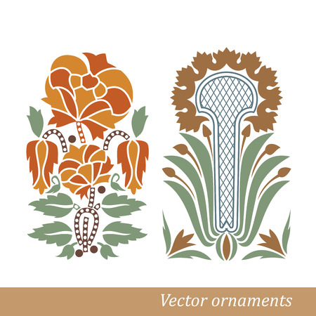 Old greek ornament  Vector illustration  Vector