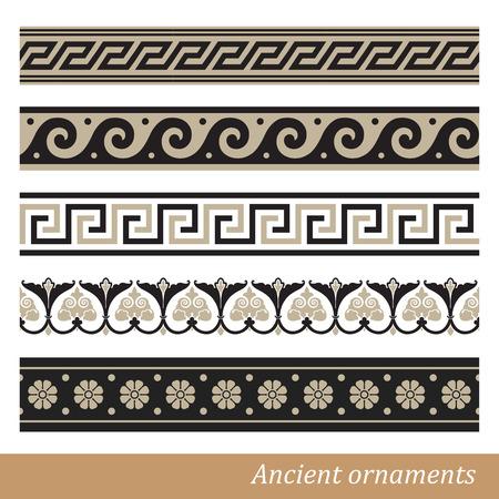 meander: Old greek ornament  Vector illustration
