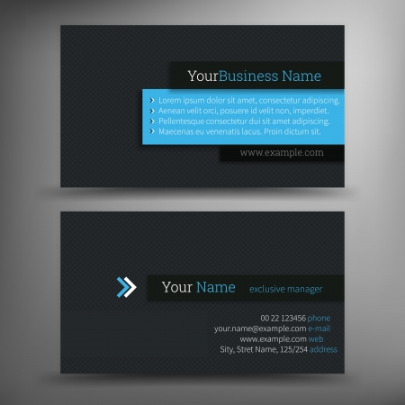 business card background: Vector abstract creative business cards  set template  Illustration