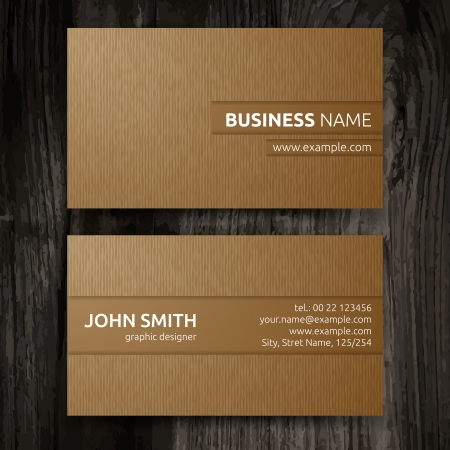 Vector abstract creative business cards  set template Stock Vector - 22644625