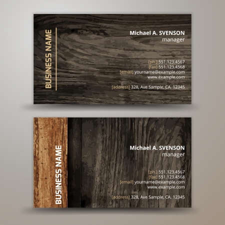 Vector abstract creative business cards  set template  Vector