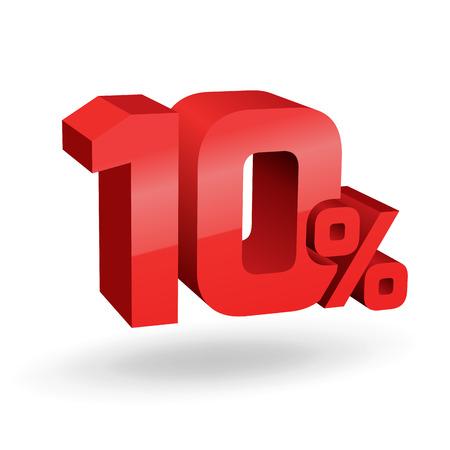 sellout: 10% percent, digits