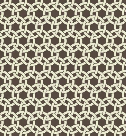 Retro geometric seamless pattern.