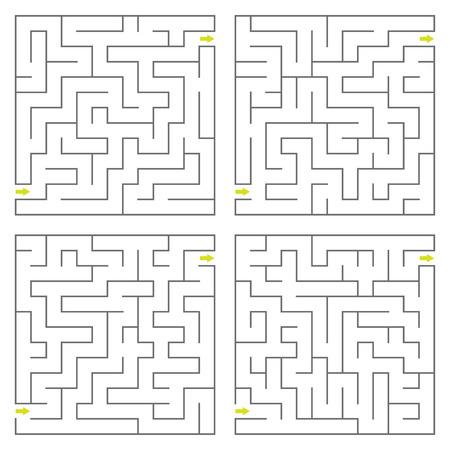 deadlock: Set of vector mazes