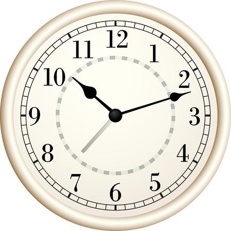 Vieux clock.Vector illustration. Banque d'images - 32232739
