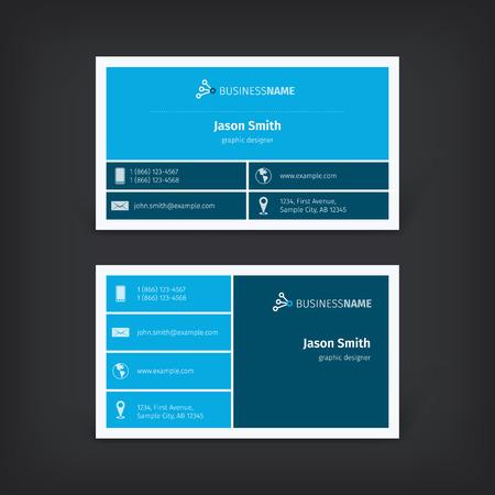 identity card: Vector abstract creative business cards