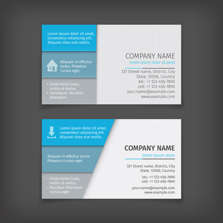 abstract business: Vector abstract creative business cards