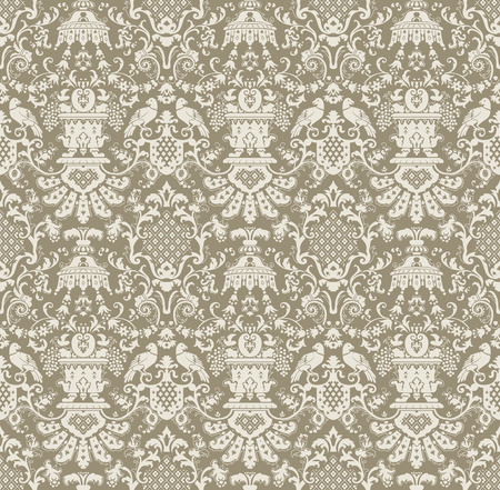 antique background: Ornamental seamless pattern. abstract background.