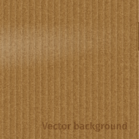 fluted: Vector Cardboard texture