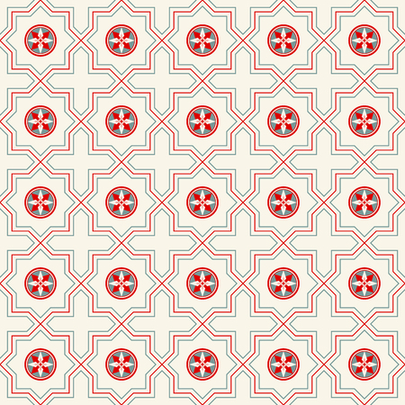 Decorative seamless vector pattern