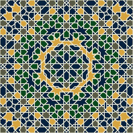 Motif arabe sans couture. Illustration vectorielle. Vecteurs