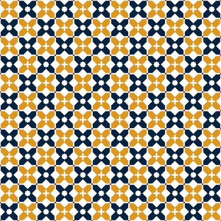 Seamless arabic pattern. Vector illustration.  イラスト・ベクター素材