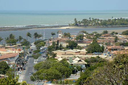 porto: Porto Seguro City - Bahia Brazil Stock Photo