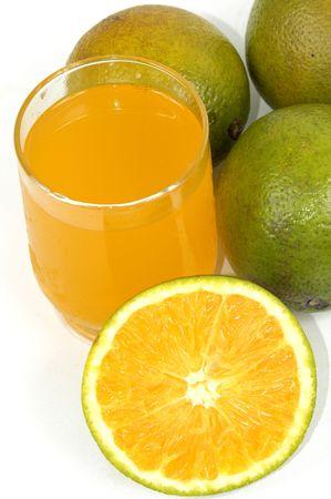 florida citrus: Orange juice and orange fresh fruits