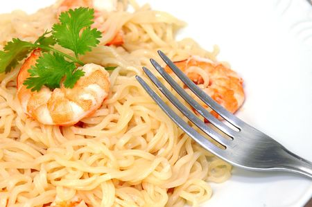 Pasta with Shrimp photo