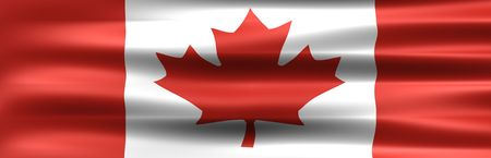 Symbol of the Country : Canada Flag  photo