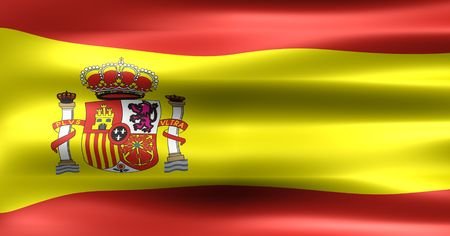 Symbol of the Country : Spain Flag  photo