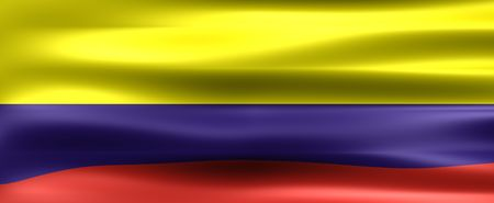 southamerica: Colombia Background Flag - Symbol of a country Stock Photo