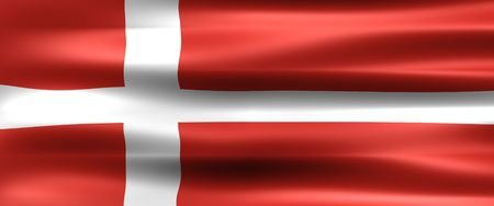 Denmark Flag - Symbol of a country photo