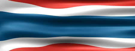 Thailand Flag - Symbol of a country photo