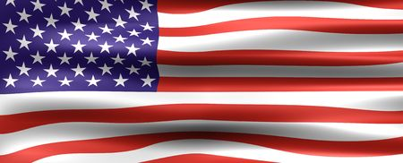 Symbol of the Country : United States Flag  photo