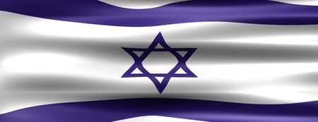 Israel Flag - Symbol of a country photo