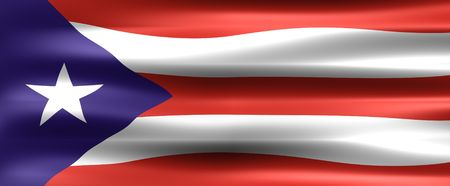 Puerto Rico Flag - Symbol of a country photo