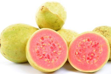 guayaba: Guayaba fresca y la salud de frutas - Frutas Colecci�n Foto de archivo