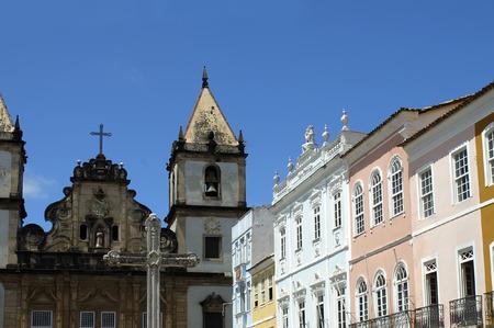 Pelourinho - Historical Center of Salvador de Bahia, Brazil Stock Photo
