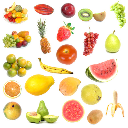 Collection with several types of fruits - 2