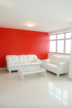 Interior Photo of a house - architecture and decoration. Stock Photo