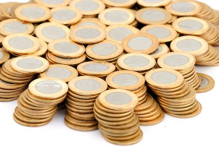 pillage: Brazilian Currency - One Real Coins .