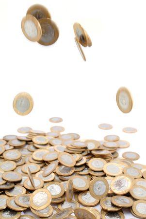 plundering: Braziliaanse munt - Een Real Munten.