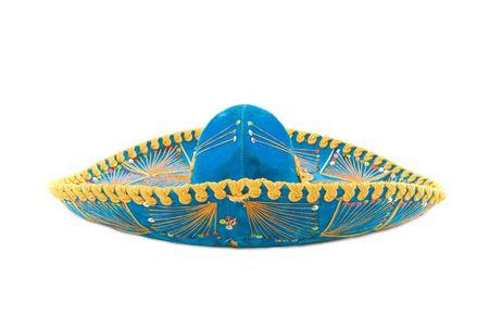 Mexikanische Mariachi hat auf weißem Hintergrund. Standard-Bild - 3629294