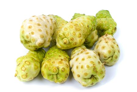noni: Exotic Fruit - Noni , Studio shot .