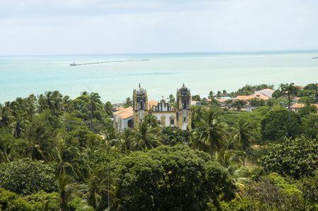 Anzeigen von Olinda - Recife Stadt und die Bucht.  Standard-Bild - 5981114