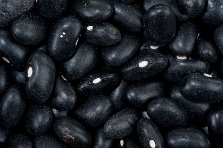 unwashed: Sfondo di fagioli di greggi scuri unwashed.