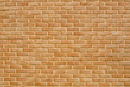 wall textures: Photo of a red brick wall - Background Texture . Stock Photo
